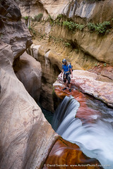 Looking into the Abyss (David Swindler (ActionPhotoTours.com)) Tags: labryrinthfalls utah waterfall zion zionnationalpark abyss canyon falls labyrinth labryrinth