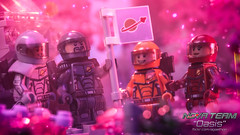 Oasis 24: Leaving Your Mark (Agaethon29) Tags: lego afol legography brickography legophotography minifig minifigs minifigure minifigures toy toyphotography macro cinematic 2017 legospace neoclassicspace spaceman classicspace space scifi sciencefiction ncs novateam customminifigure moc oasis