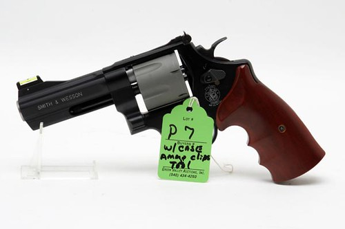Smith & Wesson Air Light PD .45 Caliber Revolver w/ Ammo Clips and Tool ($672.00)
