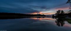 Donauinsel (Rodolfo Gabriel kmenta) Tags: donau insel isla del danubio danube sunset reflections water clouds