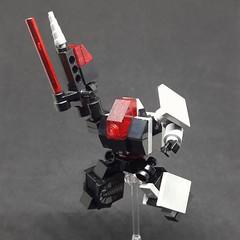 Pierce the heavens - ST-01 Mining Guild Variant (Vitor O S Faria) Tags: mfz mf0 mobileframezero mobileframe lego mecha mech