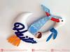 Enfeite de Porta de Maternidade Cegonha (LuaArteira) Tags: lua arteira luaarteira feltro felt guirlanda porta maternidade enfeite menino presente chá bebê fraldas azul bebe