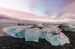 Diamond Beach - South East Iceland (achin1214) Tags: iceland europe nikon d7200 ice diamondbeach icebergs tokina 1120mm sunset nature landscape