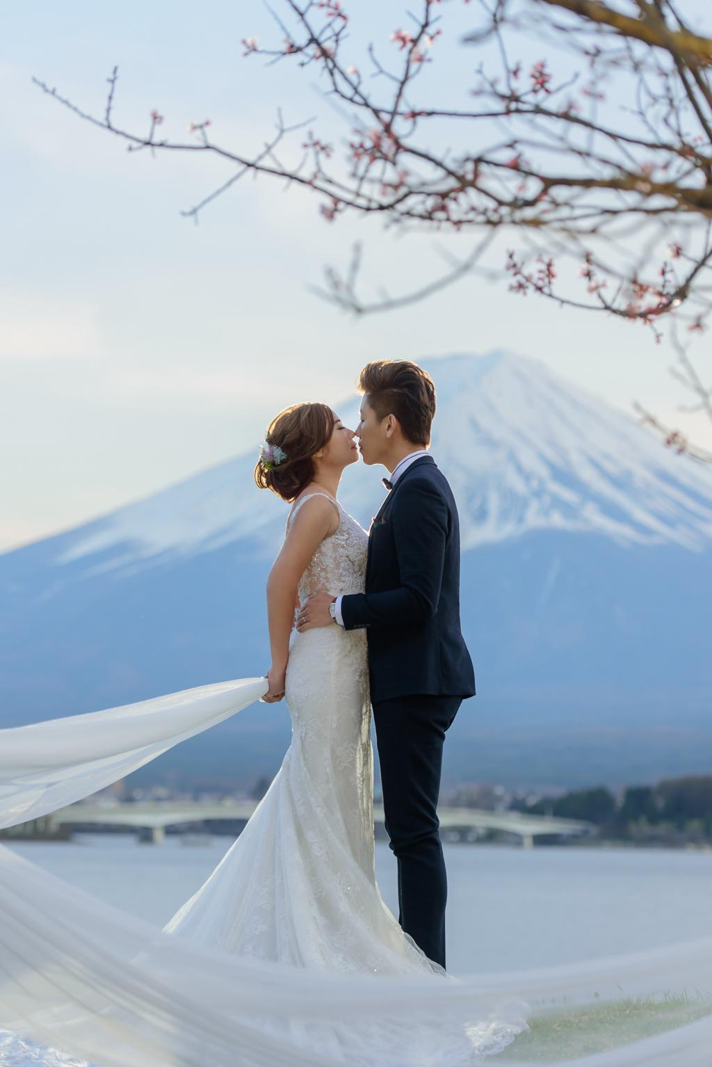 婚攝小勇,小寶團隊, Niniko, 自助婚紗, 海外婚紗,河口湖,櫻花,富士山-018