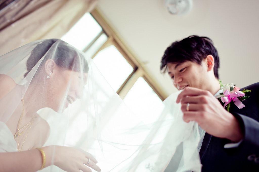 任廷&姿妤、婚禮0234