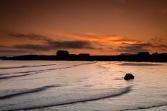 Elie Silhouette (Fifescoob) Tags: elie fife coast seascape landscape sea scotland evening summer