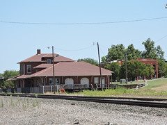 Guthrie Train Depot (Andrew Penney Photography) Tags: random construction projects work
