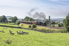 Consolidating (4486Merlin) Tags: 48151 england europe exlms heritagerailways lms8fbigeight northwest northyorkshire railways settlecarlislesc steam transport unitedkingdom countries langcliffe gbr dalesman wcrc