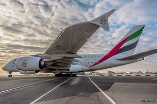 Airbus A380 Emirate A6-EDI