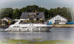 Cruising along the River Thames (mattpacker1978) Tags: boat river thames day water sky boats marine fun walking cruising canon canon700d canondigital canonphotography calm relaxing sunbathing landscape
