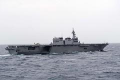 170716-N-VR594-0011 (U.S. Pacific Fleet) Tags: sailors deployment nimitzcarrierstrikegroup strikegroup malabar indoasiapacific malabar2017 exercises japanmaritimeselfdefenseforce jsizumo ddh183 bayofbengal