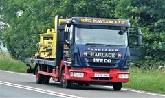 Reg Naylor Ltd Iveco Eurocarrier YJ58 BKY (sab89) Tags: reg naylor ltd iveco eurocarrier yj58 bky