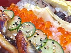 (LaTur) Tags: seafood foodie dcist bento food foodporn sushigakyu eater rice eel egg
