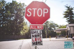 Week 30: Red (bmurphy502) Tags: 2017project52 red stop stopsign sign love littlethings lovemore smile bright path sunlight summer
