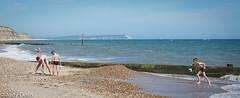 Beach life 3 - Boys on the beach (judy dean) Tags: judydean 2017 bournemouth southbourne hengistburyhead beach boys playing games isleofwhite polarbear pebbles
