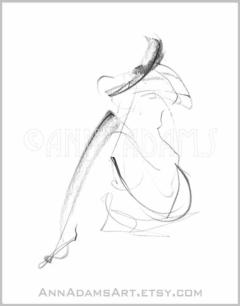 the world s newest photos by annadamsart flickr hive mind 1.8 Server IP 7 2 nude pencil sketch minimalist fine art dancing female drawing black and white abstract