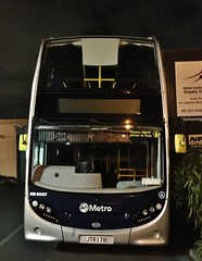 AT Metro Enviro500 #5007 (CR1 Ford LTD) Tags: double deckers adl alexander dennis buses bus metrolink metro depot auckland onehunga transport omnibus enviro500