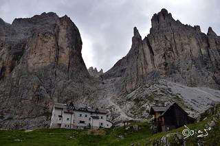 Rifugio Vajolet - Trentino Italy.