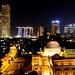 Skyline of Singapore at Night