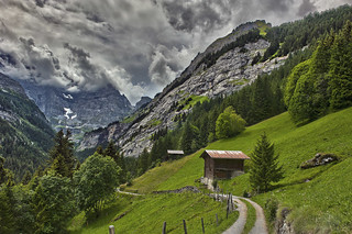Welcome to Sefinental , (Gimmelwald, Murren , Canton of Bern , Switzerland ), No. 600 a.
