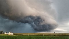 you don't fool with mother nature... (BillsExplorations) Tags: stormfront storm rain thunderstorm deluge globalwarming amok clouds stormscapes sky mothernature darkskies stormclouds