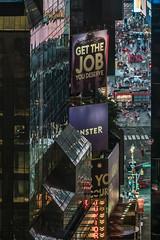 Get the Job You Deserve (justenoughfocus) Tags: newyork newyorkcity broadway cityscape manhattan marriott midtown monstercom nyc timessquare unitedstates urban urbanexploration us