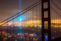 A Call in the Night (Thomas Hawk) Tags: 75thbirthdaygoldengatebridge america batteryspencer california goldengatebridge marin marinheadlands sanfrancisco usa unitedstates unitedstatesofamerica bridge fireworks millvalley us fav10 fav25 fav50 fav100