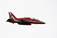 Reach out (quintinsmith_ip) Tags: redarrows red arrows smoke white blue plane jet formation raf british royalairforceaerobaticteam royal air force aerobatic team bae hawk t1 baehawkt1 southshields gnr greatnorthrun2017sunderlandsaturday2017air show international fly flying demo smoking
