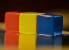 Primary Colors~Three (Karen McQuilkin) Tags: three primarycolors squares threeblocks