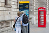 TfL Image - Legible London 10th Anniversary 3 (Transport for London Press Images) Tags: backpack couple directions legiblelondon map reading redtelephonebox tourism wayfinding wayfindingsystem westminster whitehall