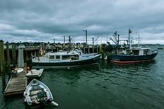 Harbor (aloof.photo) Tags: splittone monochromatic moody water harbor sea boats contrast