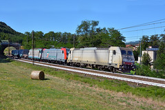 E483 022 + E483 319 + E652 157 (Maurizio Boi) Tags: mercitaliarail mie e483 e652 cargo coils treno train zug rail railway railroad ferrovia eisenbahn italy