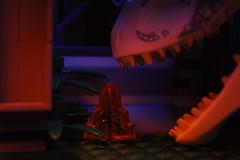 Jurassic World: Fallen Kingdom (davidstvfilms) Tags: lego legos legoland brick brickfilm jurassic world jurassicpark video animation stop motion photo photography film dinosaur batman movie universal studios joker instagram youtube amber mosquito grass orange blue indominus rex trex