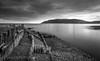 Porlock Weir Defences (PKpics1) Tags: porlockweir sea seascape clouds cloudy day water rocks stones groins