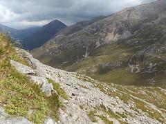 Valley between the Pap of Glencoe and Sgorr nam Fiannaidh, Highland, Scotland, 23 July 2017 (AndrewDixon2812) Tags: glencoe loch leven highland scottish scotland pap mountain sgorrnaciche sgorrnamfiannaidh valley bealach
