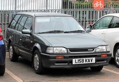 L158 KAV (1) (Nivek.Old.Gold) Tags: 1993 mazda 323 glx estate 1598cc