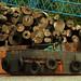 Transporting logs