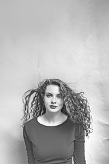 Agata (Motionsharp - Photography by Patti Farfan) Tags: beautifulhair lovelygirl beauty curlyhair blackwhiteportrait motionsharpphotography pattifarfanphotography portraitofawoman portraiture curlyredhair curlyhairbeautifulredhead redhead ginger portraitphotographer redheadmodel