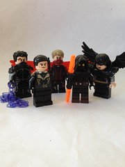 Vulture's Wake (Rogueverse) (Enøshima) Tags: rogueverse wake rogue verse lego purist marvel minifigures dc cinereous darter jimmy natale rueppell raptor