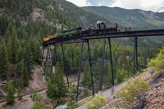 The Gate of the Devil (Jake Branson) Tags: train railroad georgetown loop steam locomotive shay lima co colorado silver plume bridge devils gate