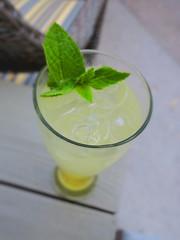 Pineapple-Ginger Mojito (sarahstierch) Tags: cocktail cocktails alcohol booze drinking napa napavalley alba riverterraceinn california mojito cruzan rum pineapple mint ginger lime