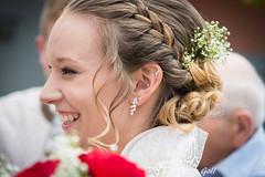 Happy bride (thx for 4M views - pego28) Tags: 2017 polterabend volkersdorf erlangen germany wedding hochzeit standesamt bride braut blond girl woman frau happy glücklich lachen