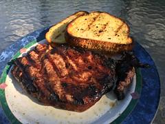 Steak and Texas toast (Vernon Brad Bell) Tags: grill texastosst toast steak