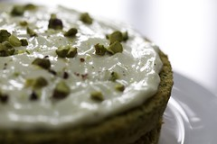 Courgette cake (Daniela Bowker) Tags: cake courgettecake courgette zucchini bake creamcheeseicing sponge spongecake