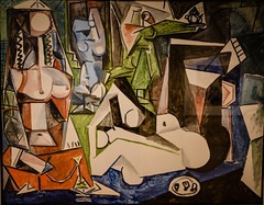 Pablo Picasso - Women of Algiers, Variation N, 1955 at Mildred Lane Kemper Art Museum St Louis MO (mbell1975) Tags: universitycity missouri unitedstates us pablo picasso women algiers variation n 1955 mildred lane kemper art museum st louis mo stl usa america museo musée musee muzeum museu musum müze museet finearts fine arts gallery gallerie beauxarts beaux galleria painting spanish