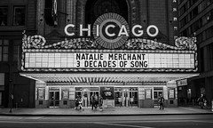 CHICAGO.......   Explore (Kevin Povenz Thanks for the 3,700,000 views) Tags: 2017 july kevinpovenz illinios chicago blackandwhite bw street streetphotography canon7dmarkii evening night lights road sigma24105art chicagotheater bright brightlights fun