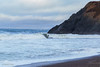 Surfing Rodeo Cove (buffdawgus) Tags: california canon5dmarkiii canonef24105mmf4lisusm landscape lightroom6 marincounty marinheadlands pacificcoast pacificocean rodeobeach rodeocove seascape surfer surfing topazsw