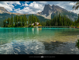Emerald Lake in Yoho National Park, BC, Canada
