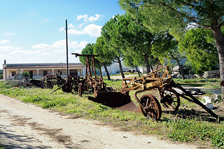 Old agriculture tools
