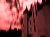 Ghost castle (François Tomasi) Tags: castle château red rouge yahoo google flickr lights light lumière françoistomasi nikon reflex pointdevue pointofview pov couleur color pierre numérique filtre composition photo photoshop photography photographie touraine indreetloire france europe tableau nuages nuage clouds cloud fantôme ciel sky window windows donjon juillet 2017 tableaunumérique digital ghost